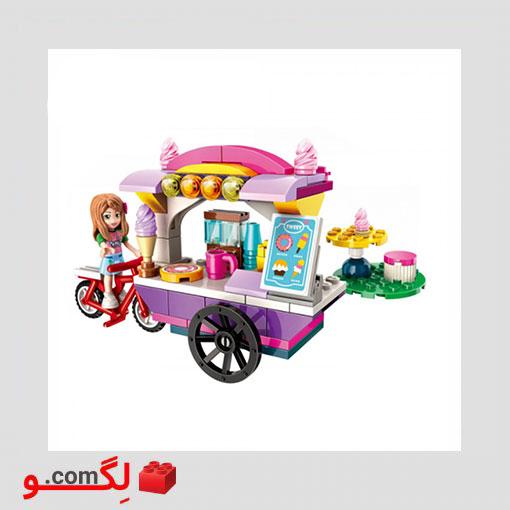 لگو بستنی فروش دخترانه Qman