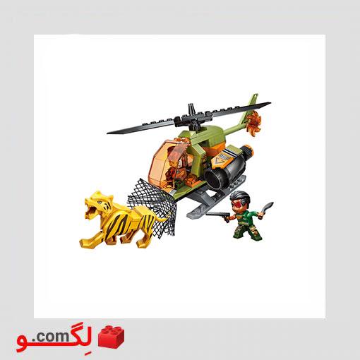 لگو هلی کوپتر جنگنده Qman