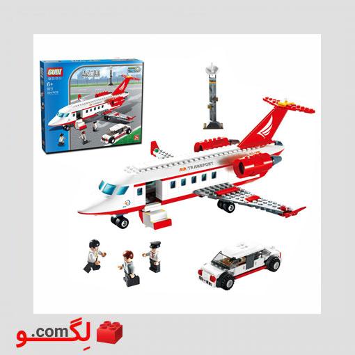 لگو هواپیمای شخصی gudi1189