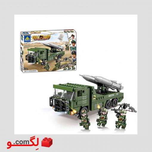 لگو ماشین موشک انداز kazi 84074