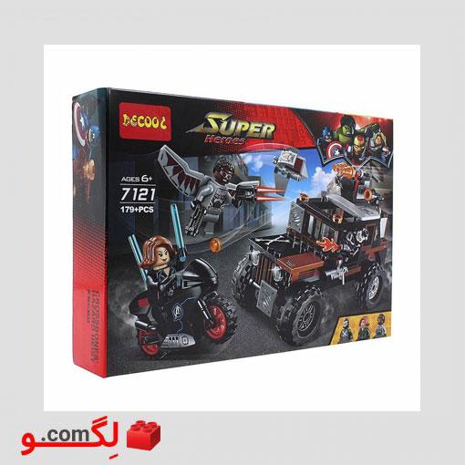 لگو super heroes کد 7121