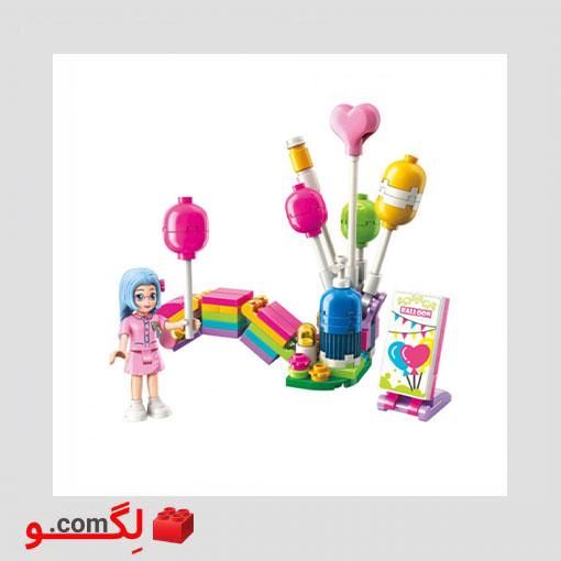 لگو بالن رنگین کمان QMAN